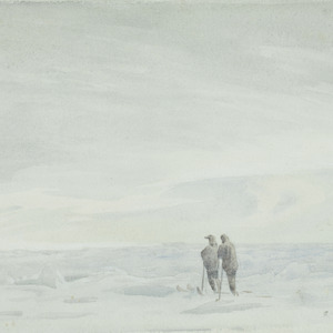 On ski in the pack, Weddell Sea, 1915