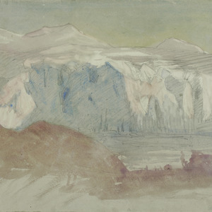 Glacier, evening, Elephant Island, 1916