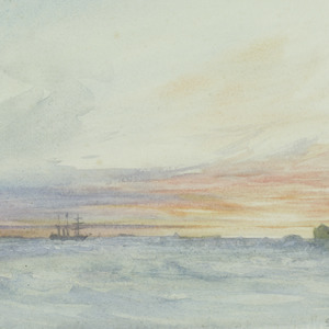 Sunset in the Weddell Sea, 1915
