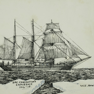Sir Ernest Shackleton's Endurance, 1914-16