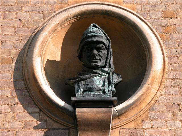 Bust of Robert Falcon Scott by Kathleen Scott (Photo: J.A. Dowdeswell)