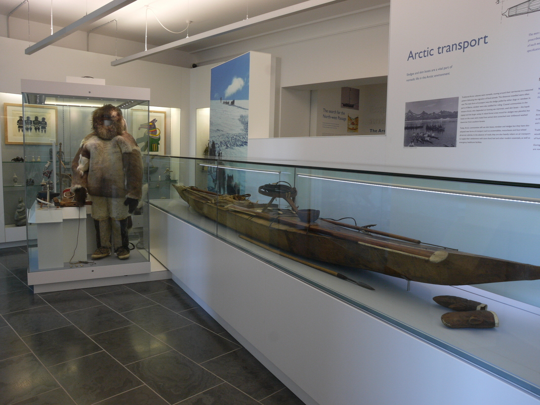 Arctic peoples display