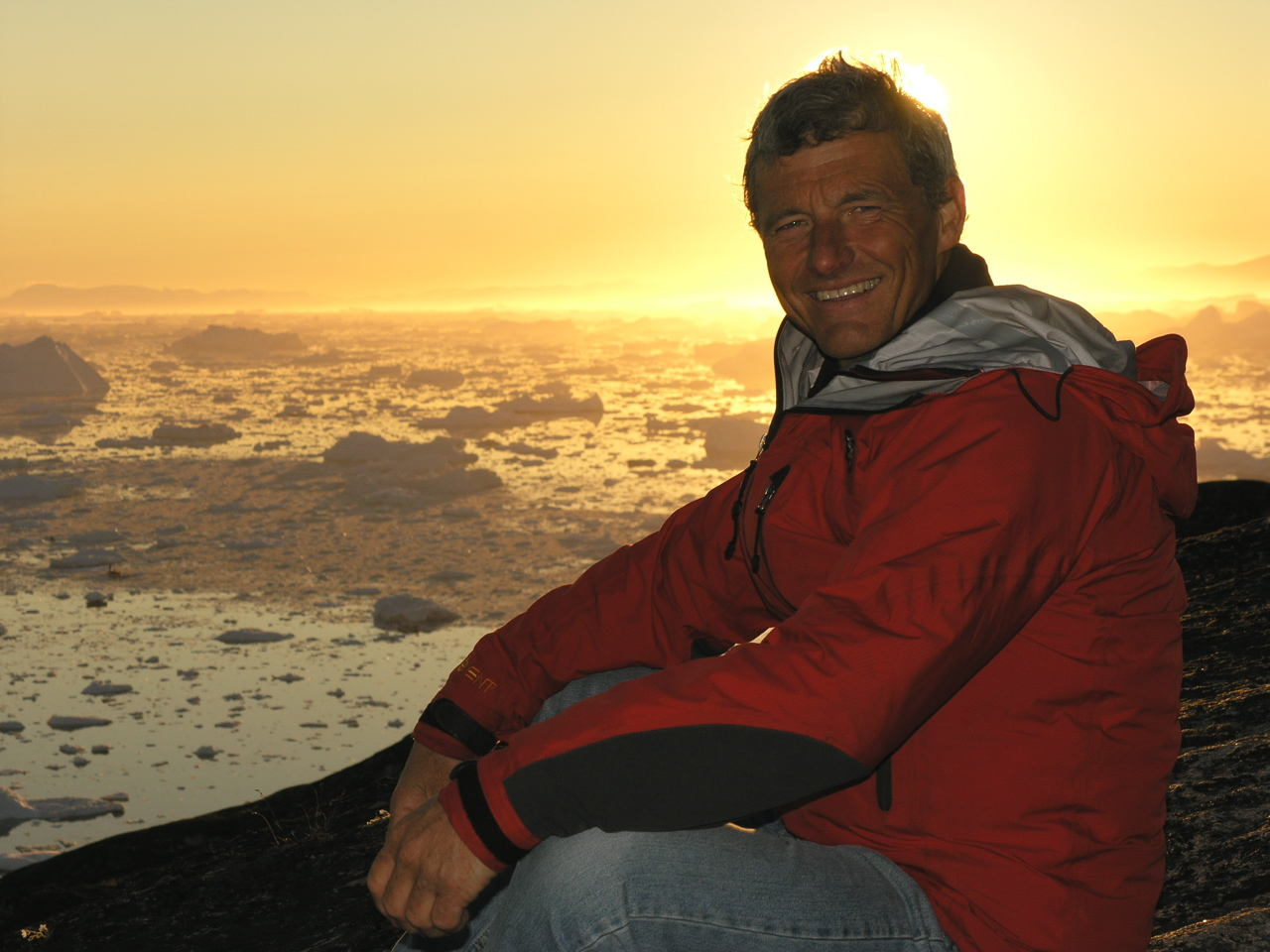 Paul Rose in Greenland