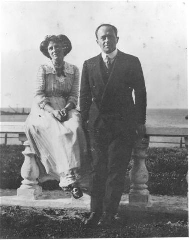 Kathleen and Robert Falcon Scott