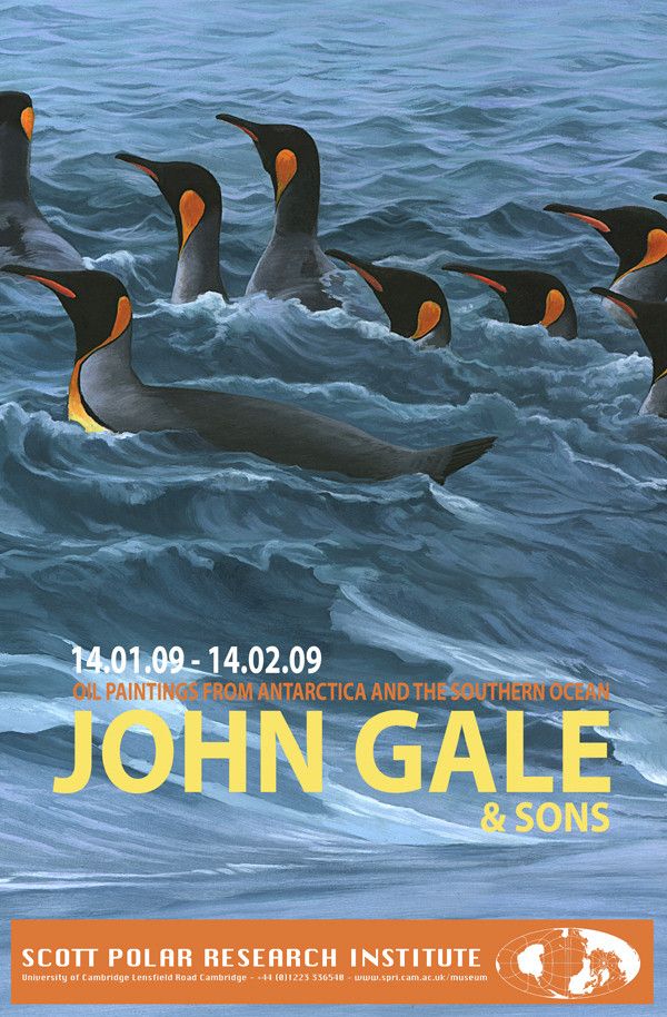 John Gale exhibition poster