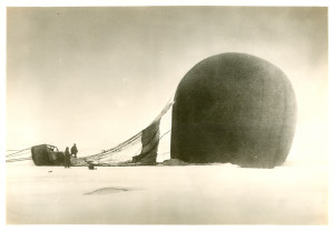 Andree's Arctic balloon expedition 1897