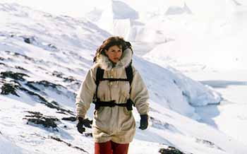 Julia Ormond as Miss Smilla in the 1997 film adaptation Smilla's Sense of Snow.
