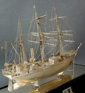 the Terra Nova model after a few storms