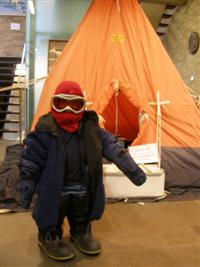 A young explorer enjoys Science Week